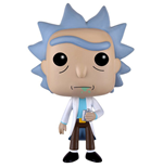 Rick and Morty POP! Animation Vinyl Figur Rick 9 cm