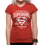 T-Shirt Batman V Superman - Stronger Faster - tailliert fur Frauen.