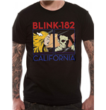 T-Shirt 182 - California Album - Unisex in schwarz