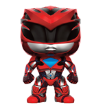 Power Rangers POP! Movies Vinyl Figur Red Ranger 9 cm