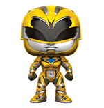 Power Rangers POP! Movies Vinyl Figur Yellow Ranger 9 cm