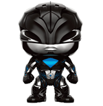 Power Rangers POP! Movies Vinyl Figur Black Ranger 9 cm