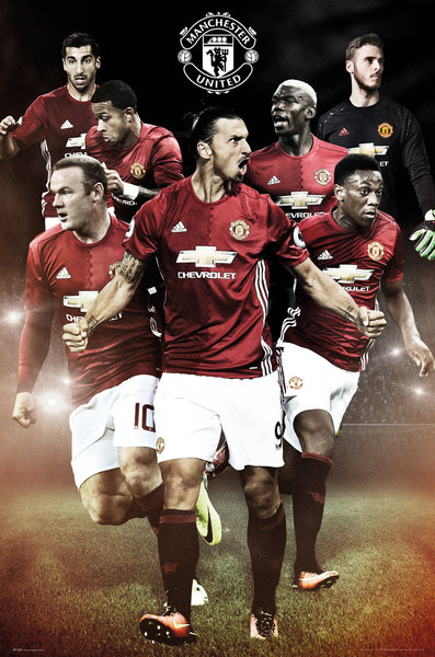 Poster Manchester United FC Players