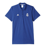 Polohemd Real Madrid 2016-2017 (Violett)
