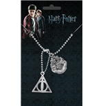 Harry Potter Erkennungsmarken mit Kette Crest & Hallows