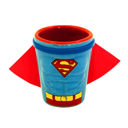 Glas Kostüm Superman
