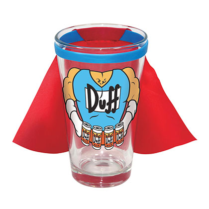 Glas Die Simpsons Duff