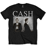 Johnny Cash T-Shirt für Männer - Design: Mug Shot