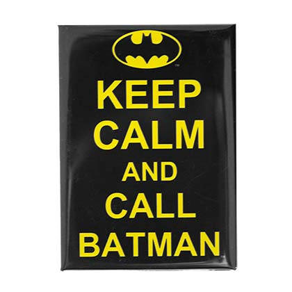 Magnet Batman Keep Calm and Call BATMAN