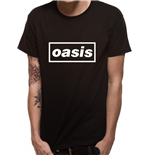 T-Shirt Oasis - Black Logo
