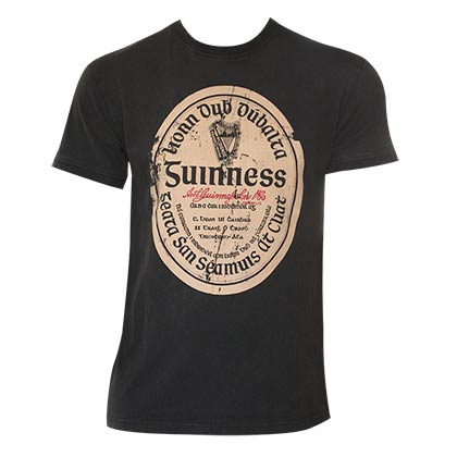 T-Shirt Guinness Distressed Gaelic