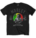 T-Shirt Bob Marley Rebel Music Seal