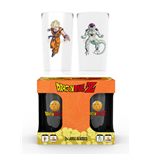 Glas Dragon Ball Drachen - Goku Vs. Freiza - Large