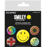 Brosche Smiley 251099