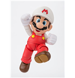 Super Mario Bros. S.H. Figuarts Actionfigur Fire Mario Tamashii Web Exclusive 10 cm