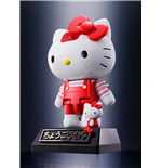 Hello Kitty Chogokin Diecast Actionfigur Red Stripe Ver. 10 cm