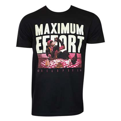 T-Shirt Deadpool Maximum Effort