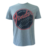 T-Shirt Fender - Original 1946 in grau