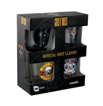 Glas Guns N' Roses Packung - Mix