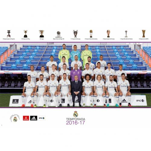 Poster Real Madrid Squad 38
