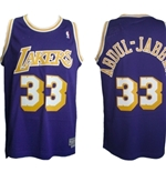 Trikot Los Angeles Lakers  Kareem ABDUL-JABBAR