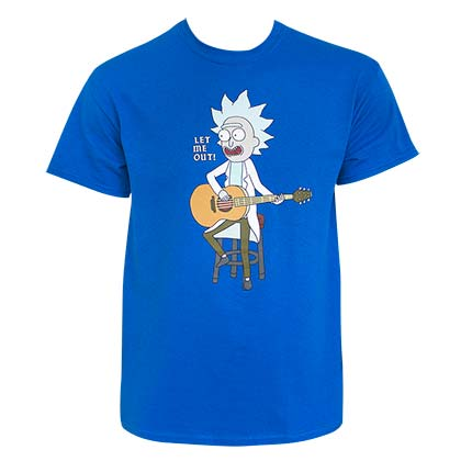 T-Shirt Rick and Morty Let Me Out