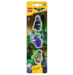 LEGO Batman Movie Mini-Radiergummis 3-er Pack