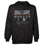 Sweatshirt Queen Vintage Union Jack