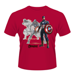 T-Shirt The Avengers Age of Ultron Captain a Draw