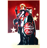 Poster Fallout 4 - Nuka Cola Advert - 61 x 91,5 cm.