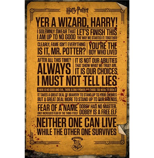 Poster Harry Potter