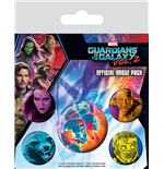 Guardians of the Galaxy Vol. 2 Ansteck-Buttons 5er-Pack Cosmic