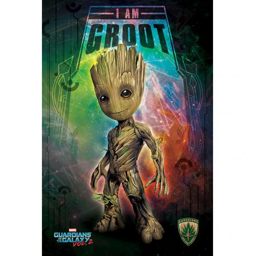 Poster Guardians of the Galaxy Groot