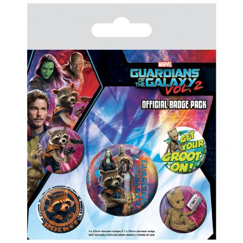 Brosche Guardians of the Galaxy 253919