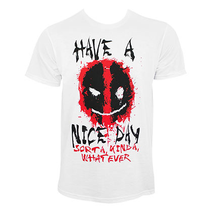 T-Shirt Deadpool Have A Nice Day