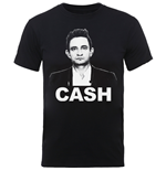 Johnny Cash T-Shirt für Männer - Design: Straight Stare