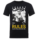 T-Shirt Johnny Cash Rules Everything