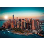 Poster New York - Freedom Tower Manhattan - 100x140 Cm