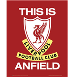 Poster Liverpool FC - This Is Anfield. Grosse: 40 x 50 cm.