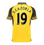 Trikot Arsenal 2016-2017 Away (S. Cazorla 19) - Kinder