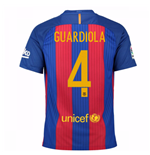 Trikot Barcelona Home 2016/17 - Kinder (Guardiola 4)