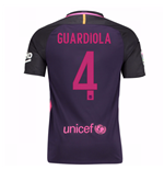 Trikot Barcelona Away 2016/17 (Guardiola 4)