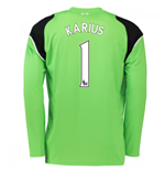 Trikot Liverpool FC 2016-2017 Home Torwart (Karius 1) Kinder