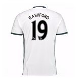Trikot Manchester United FC 2016-2017 Third (Rashford 19) Kinder