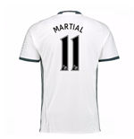 Trikot Manchester United FC 2016-2017 Third (Martial 11) Kinder