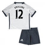 Mini Set Manchester United FC 2016-2017 Third (Smalling 12)