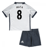 Mini Set Manchester United FC 2016-2017 Third (Mata 8)