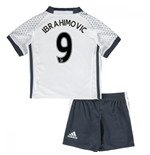 Mini Set Manchester United FC 2016-2017 Third (Ibrahimovic 9)