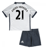 Mini Set Manchester United FC 2016-2017 Third (Ander Herrera 21)