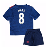 Mini Set Manchester United FC 2016-2017 Away Baby (Mata 8)